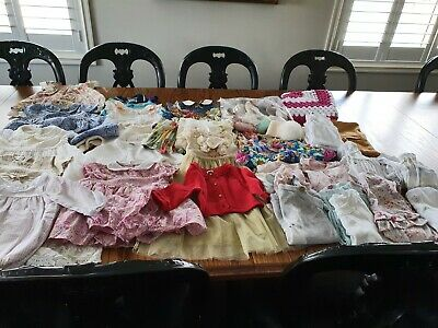 AU50 • Buy 0-3 Months Baby Girl Clothes, Over 50 Items, Liberty, Ralph Lauren, Next