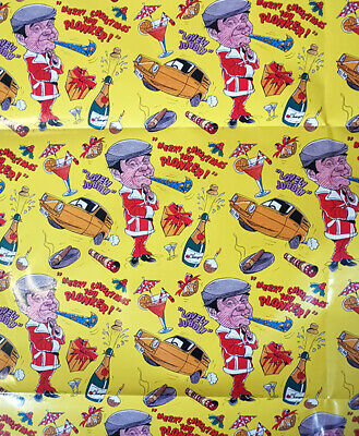 Only Fools And Horses CHRISTMAS Wrapping Paper 70x50cm X 4 Sheets • 6.99£