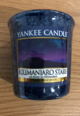 Kilimanjaro Stars Yankee Candle Votive Brand New Sealed Rare Htf Sampler Retured • 1.40£