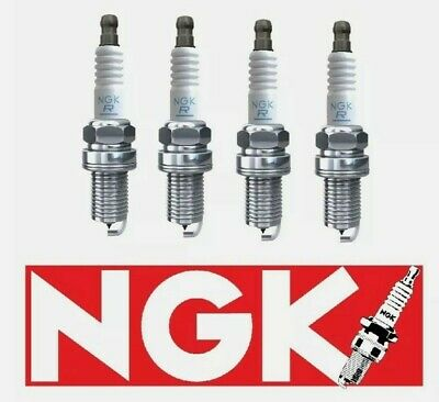 SET OF FOUR ( X4 ) GENUINE NGK SPARK PLUGS NGK 4424  / BPR5ES-11 X 4 TOP QUALITY • 7.89£