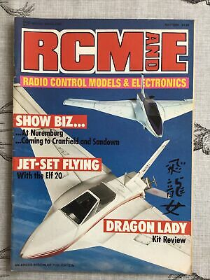 £3.99 • Buy RCM And E Magazine, Radio Control Models - May 1988 Volume 30 Number 5