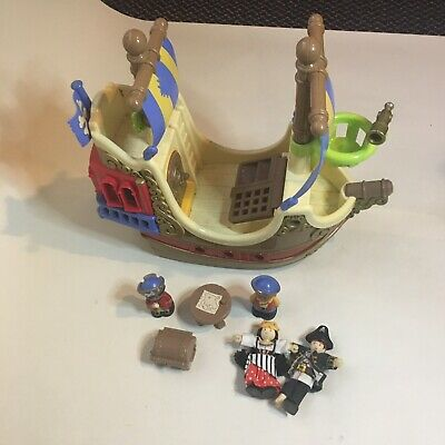 £14.60 • Buy ELC Happyland Pirate Ship Pirates With Extra Wooden Pirates