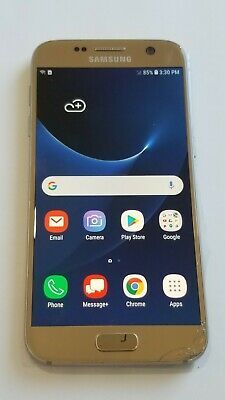 $ CDN80.20 • Buy Samsung Galaxy S7 Edge G935V -32GB-Silver-Verizon Unlocked -Back Crack # 232SP