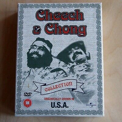 Cheech And Chong Collection—Organically Grown In U.S.A.—5 DVD Box Set 2004 R2 UK • 19.99£