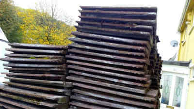 5 Reclaimed Redland Stonewold Roof Tiles Tudor Brown • 10£