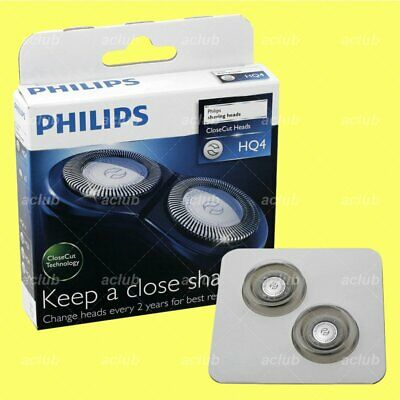 Philips HQ4 Replacement Shaver Heads (2 Pcs) For PQ208 PQ206 PQ217 PQ203 PQ202 • 19.50£