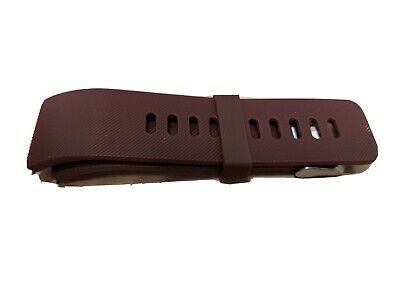$ CDN10 • Buy Fitbit Blaze Silicone Replacement Watch Band - Brown - Size Large
