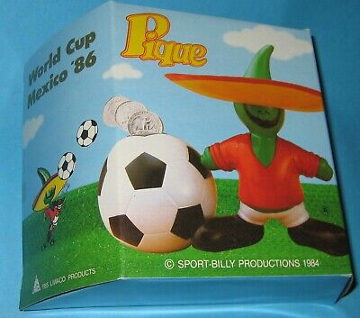 £39 • Buy 1986 Mexico World Cup Mascot Pique Boxed Figure