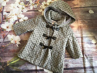 £4.99 • Buy Baby Girls Duffle Coat From Couche Tot 0-6 Months
