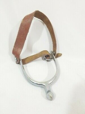 $19.09 • Buy Vintage Star Steel Silver New England Single Cavalry Spur Military Horse Tack