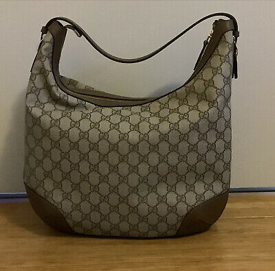 AU1590 • Buy Authentic Gucci GG Canvas Medium Hobo Bag