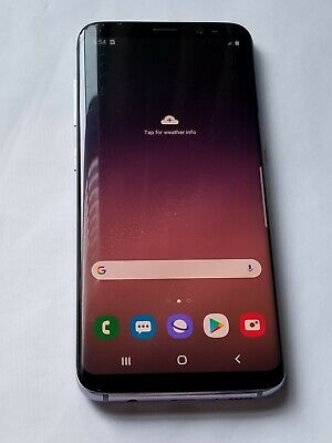 $ CDN201.12 • Buy Samsung Galaxy S8 -G950U- 64GB - Grey -Verizon Unlocked - ScrnCrck # Jy334