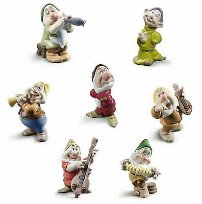 Nao By Lladro Set Disney GNOME Without SNOW WHITE New Figurine • 684.52£