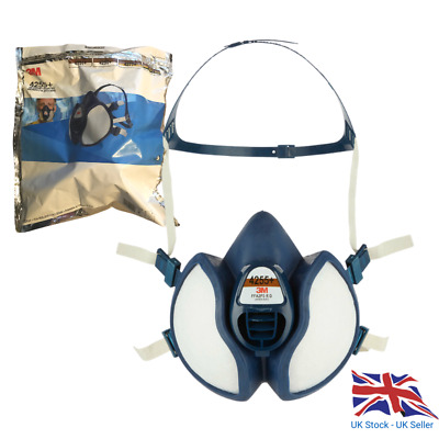 4255+ HALF MASK RESPIRATOR A2-P3 (SEALED) Expires 2023 • 32£