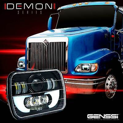 $69.95 • Buy LED Headlights For Mack Semi Truck CH600 CHN613 CL600 Headlamps Sealed Pair