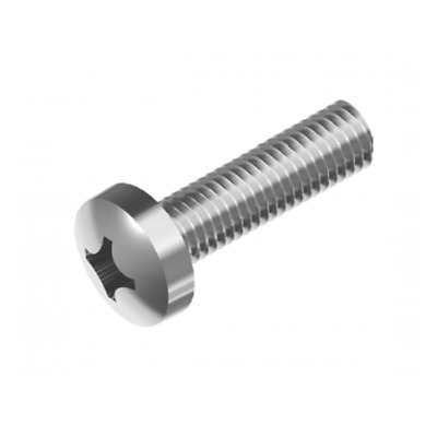 AU4.26 • Buy Inox World Stainless Pan Phil Machine Screw A4 (316) M3 - Pack Of 100