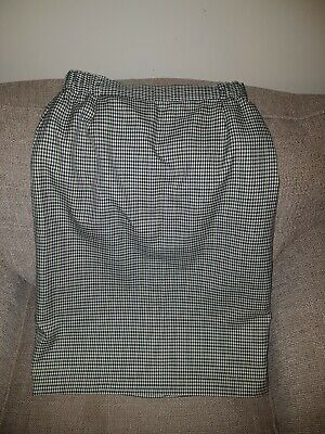 Vintage  VOLONTE Skirt, Lined, Ska, Skin Girl, USED, Tweed Look, Check • 5£