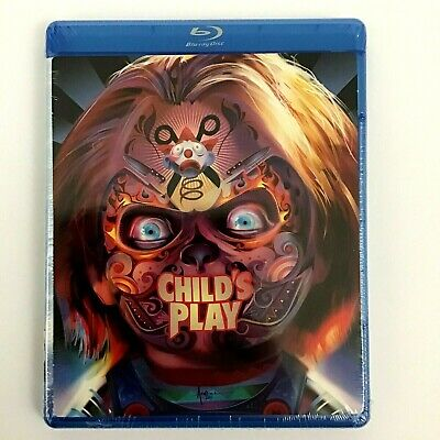 Child's Play (Blu-Ray Disc, 2015) Chucky Doll Widescreen Horror English NEW SEAL • 7.12£