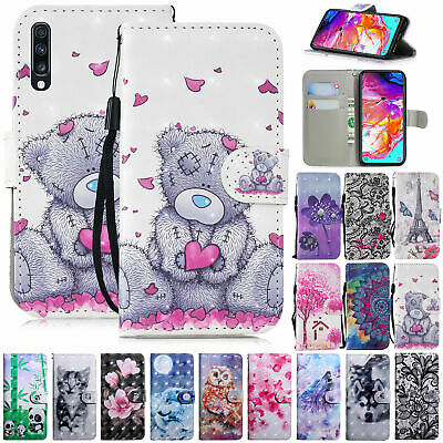 Case For Huawei Y5 Y6S Y6 Y7 2018 2019 Luxury Leather Flip Wallet Stand Cover • 4.99£