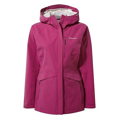 Craghoppers Women's Caldbeck Waterproof Breathable Jacket CMW1166 • 79.99£
