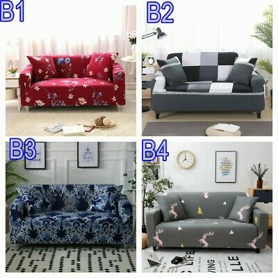 AU25.99 • Buy 1/2/3 Seater Sofa Cover Stretch Lounge Slipcover Protector Couch Washable AU