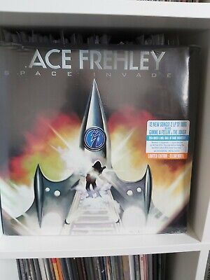 ACE FREHLEY Space Invader Limited Edition Super Rare Clear Vinyl Pressing • 165£