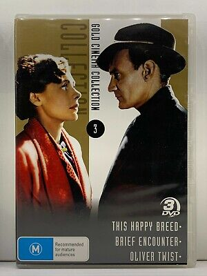 £8.13 • Buy DVD - (MULTI) This Happy Breed/Brief Encounter/Oliver Twist - FREE POST #P3