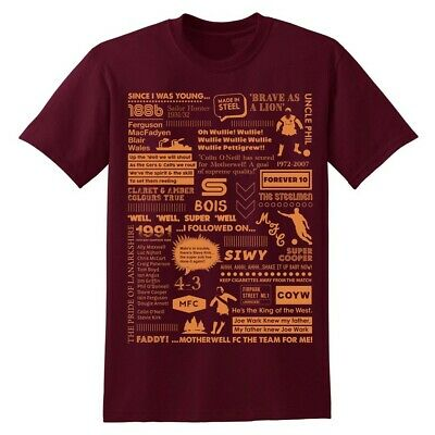 New Limited Edition Motherwell FC T-shirt, Size Large • 10£
