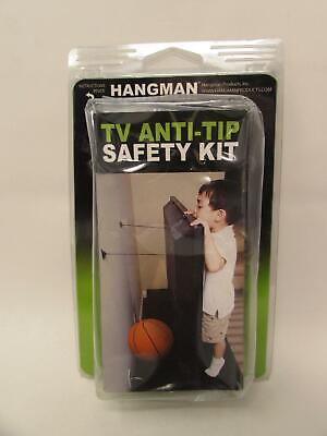 $19.99 • Buy Hangman Products TV Anti-Tip Kit Child Safety Child Proof TV Mount Hanger