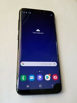 $ CDN174.30 • Buy Samsung Galaxy S8 -G960U- 64GB - Black - AT&T Unlocked - DeadPixel # Jy30