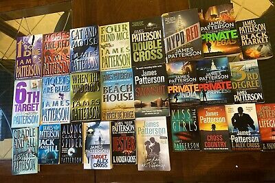 AU169 • Buy 26 James Patterson Titles Private Cross Women's Murder Club