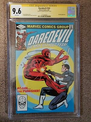 £272.32 • Buy Daredevil 183 CGC 9.6 SS Frank Miller Signed Punisher Appearance Classic Cover
