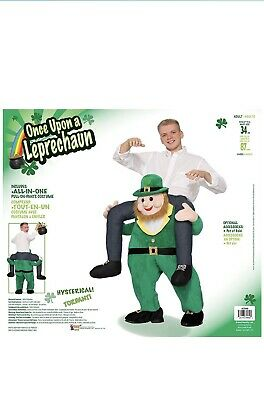 $35 • Buy St. Patrick's Day Leprechaun Costume Carrier Adult Mens Funny One Size Fits Most