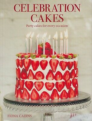 Celebration Cakes By Fiona Cairns BRAND NEW BOOK (Paperback 2018) • 9.85£