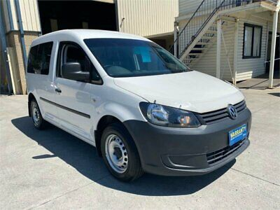 AU20950 • Buy 2014 Volkswagen Caddy 2K TDI250 White Automatic A Wagon
