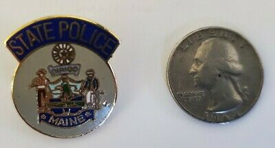 $9.97 • Buy MAINE STATE POLICE Lapel Pin