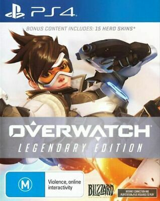 AU40 • Buy OVERWATCH Legendary Edition PS4 Playstation 4 Video Game (Aus Seller)