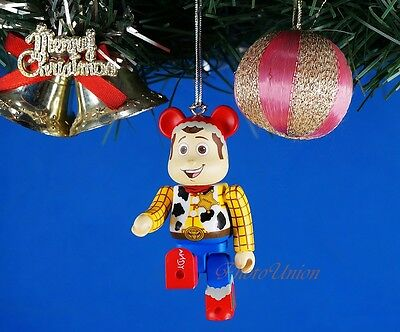 $4.45 • Buy Decoration Xmas Ornament Home Decor Bearbrick Disney Toy Story Woody *K1048_F
