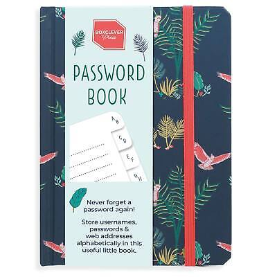 Boxclever Press Password Book • 8.49£