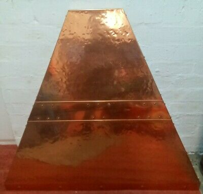 Copper Hood Canopy Fire Vintage Strong Good Condition • 30£