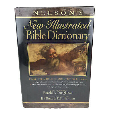 Nelson's New Illustrated Bible Dictionary Hardback • 28.35£