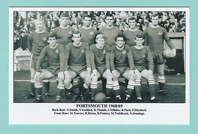 FOOTBALL - Taddyclown.co.uk  POSTCARD - PORTSMOUTH  TEAM  OF  1968/69  -  2012 • 2.95£