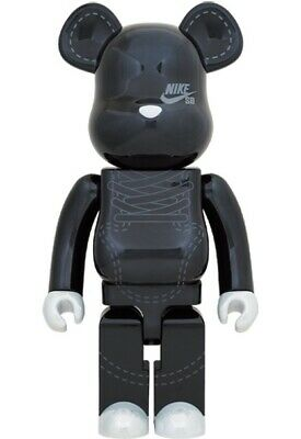 $1199 • Buy New Nike SB Dunk Bearbrick Medicom 2020 1000% Black Limited - In Hand