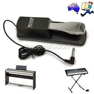 AU20.90 • Buy Piano Damper Sustain Pedal Foot Switch For Electric Yamaha Casio Roland Keyboard