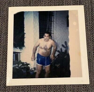 $ CDN16.48 • Buy Shirtless Hairy Guy Crazy Gay Interest Vintage 1970s Polaroid Photograph