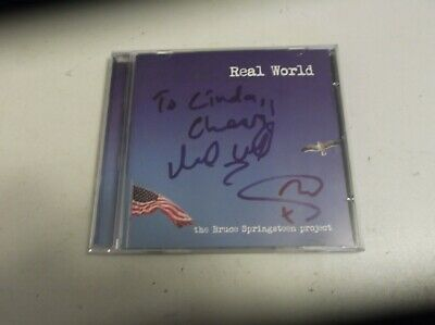 £20 • Buy Mark Wrigh Real World The Bruce Springsteen Project Cd Album Signed