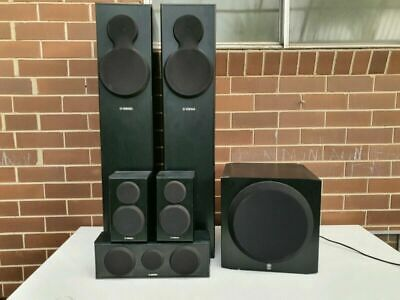 AU445 • Buy Yamaha NS-140F 5.1 Quality Speakers System