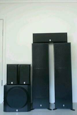 AU445 • Buy Yamaha HT Series NS-50F 5.1 Quality Home Theater Speakers System