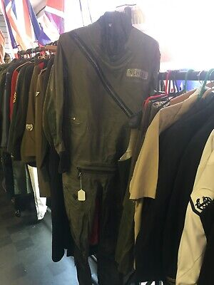 Army Surplus British Beaufort Aircrew Immersion Protective Goon Suit Size 6 • 85£