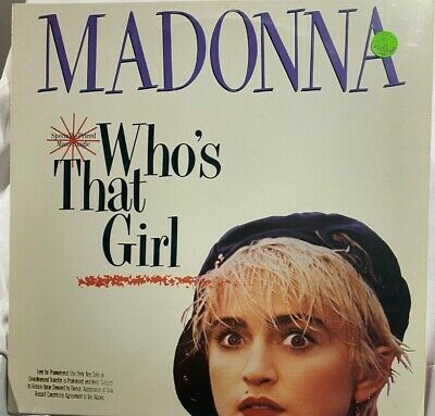 £14.19 • Buy MADONNA Who's That Girl SEALED EP Gift Quality